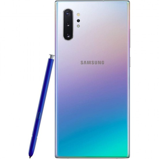 Samsung Galaxy Note 10+ N975F/DS 256GB, , 12GB RAM, Quad Camera, (International Unlocked Version) (Aura Glow)