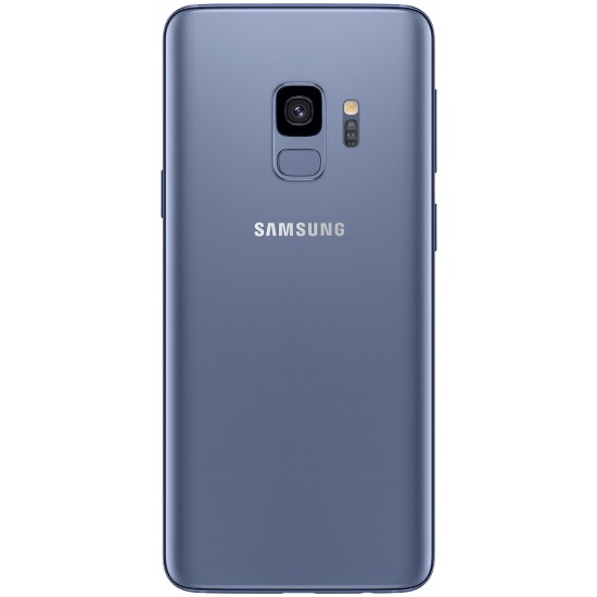 Samsung Galaxy S9 (SM-G960F/DS) 4GB / 64GB 5.8-inches LTE Dual SIM (GSM Only, No CDMA) Factory Unlocked - Coral Blue