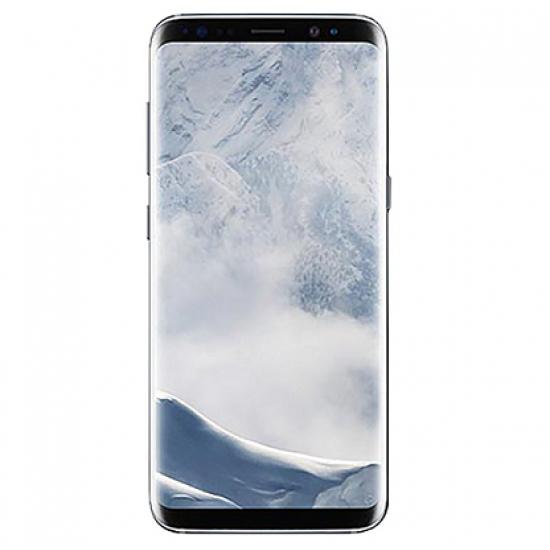 "Samsung Galaxy S8+ 64GB Single SIM Unlocked Phone - 6.2"" Screen - International Version (Arctic Silver)"