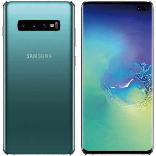 Samsung Galaxy S10+ Plus 128GB+8GB RAM SM-G975F- Unlocked Smartphone-(Prism Green)