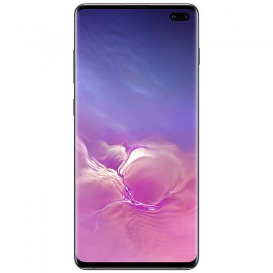 "Samsung Galaxy S10+ Plus 128GB+8GB RAM SM-G975F/DS Dual Sim 6.4"" LTE Factory Unlocked Smartphone Internationa-(Prism White)"