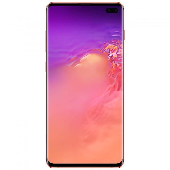 Samsung Galaxy S10+ Plus Factory Unlocked Phone with 128GB (U.S. Warranty), Flamingo Pink