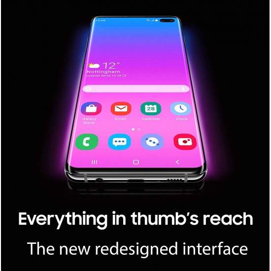 "Samsung Galaxy S10e 128GB+6GB RAM SM-G970 Dual Sim 5.8"" LTE Factory Unlocked Smartphone-(International Model) (Canary Yellow)"